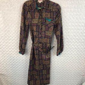 Cheekaberry Vintage 70's Career Dress
